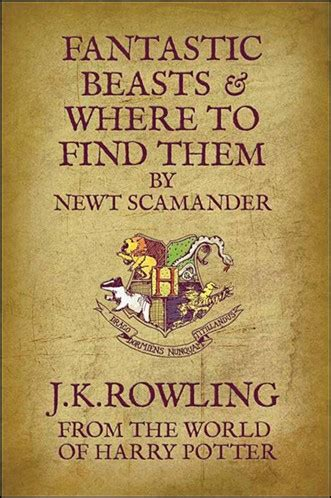 libro fantastic beasts and where harry potter spinoff film series in the works from j k rowling and warner bros collider