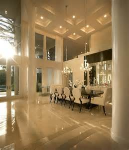 Living dinning rooms dining area high ceiling dining room grand dining