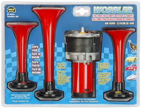 boat horn placement wolo wobbler triple wild turkey air horn wol410