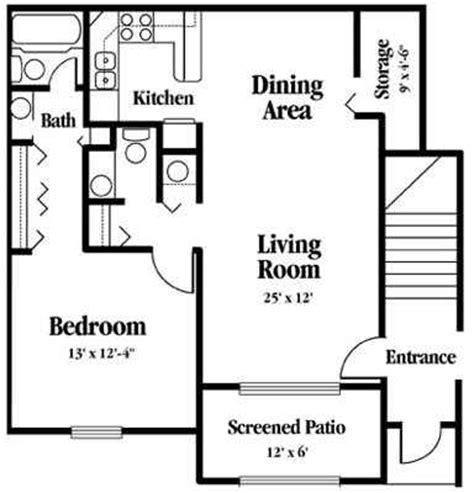 Apartment Rent Specials Apartment Rental Sr206 1 Bedroom Floor Plans