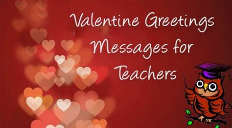 valentines card for teachers messages greeting card messages for