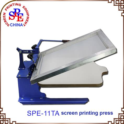 how to screen print 1 color bench press diy stand doovi screen printing machine silk screen press one color screen