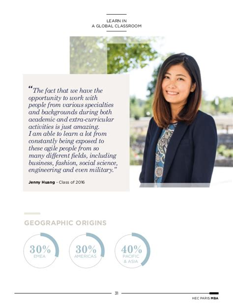 Hec Mba Tuition Fees by Hippie Exe Brochure Mba Digital