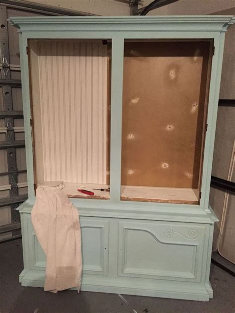 chalk painted china cabinet dining room china cabinet makeover hometalk