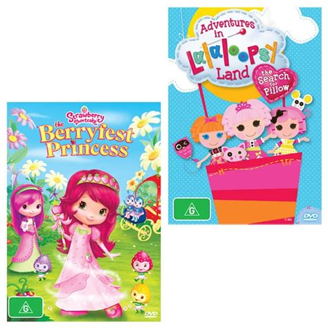 Search For Pillow by Adventures In Lalaloopsy Land The Search For Pillow Strawberry Shortcake Berryfest Princess