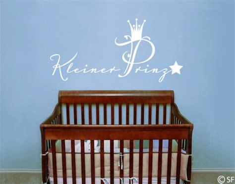 Wandtattoo Kinderzimmer Kleiner Prinz by Wandtattoo Kleiner Prinz Wandspr 252 Che F 252 Rs Kinderzimmer