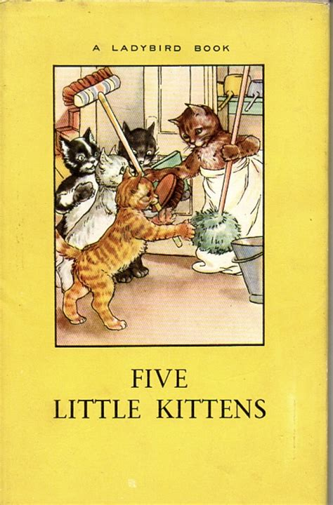 the animal rhyme books five kittens vintage ladybird book animal rhymes