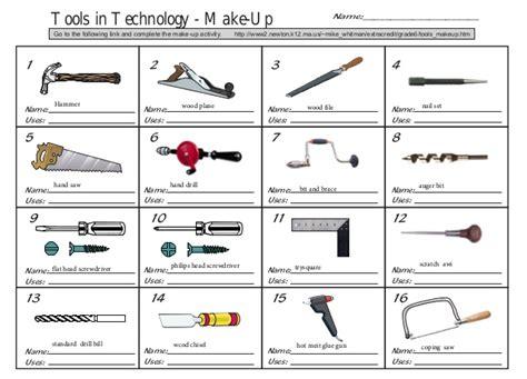 names of woodwork tools tools makeup