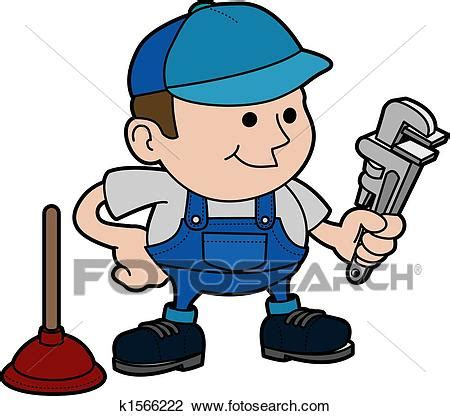 clipart idraulico clipart illustrazione di idraulico k1566222 cerca