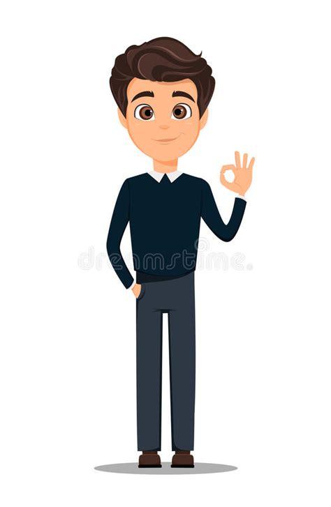 imagenes animadas hombres personaje de dibujos animados del hombre de negocios