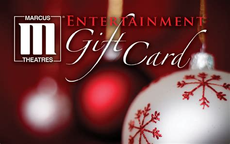 Theatre Gift Card - marcus theatresr entertainment gift cards are a fun and affordable gift this holiday