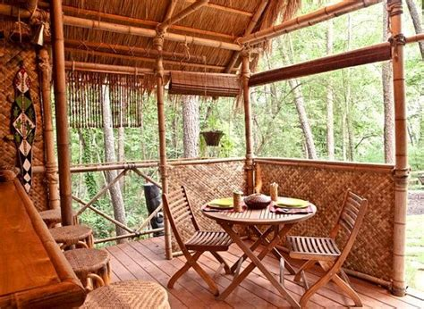 Tiki Hut Blueprints Diy Plans Tiki Hut Bamboo Bungalow With Tiki Bar Tiki