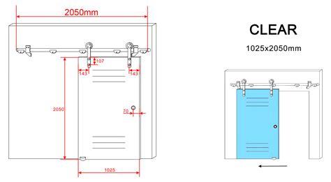 schiebetür glas glas schiebet 195 188 r clear in 102 5 x 205 cm duschdeals