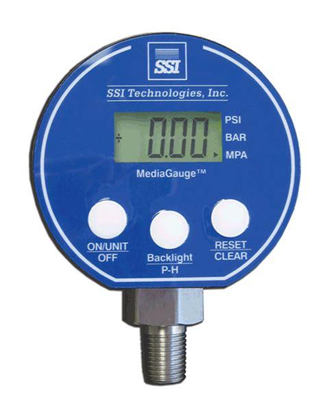 Digital Pressure 3 14 Npt 9v Battery 0 5000 Psi Led ssi technologies mg 9v digital pressure kodiak controls