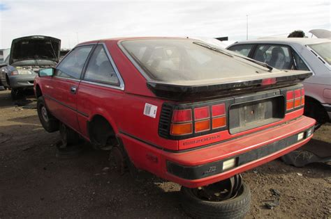 junkyard find 1986 nissan 200sx the about cars