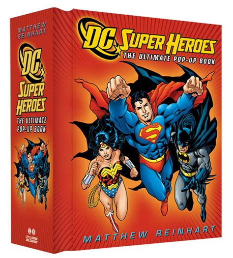 the up books dc heroes the ultimate pop up book dc comics