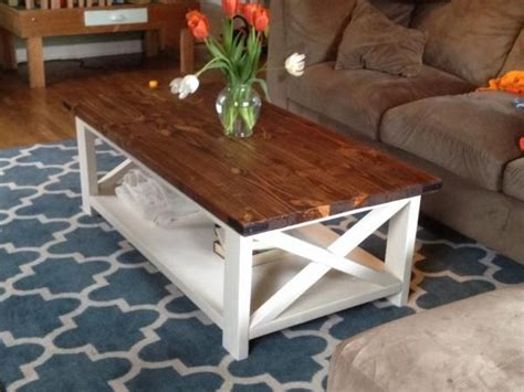 17 best ideas about farmhouse coffee tables on