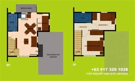 camella homes drina floor plan drina house model floor plan home design and style