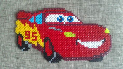 bead car cars pixar hama by simone90 disney pixar