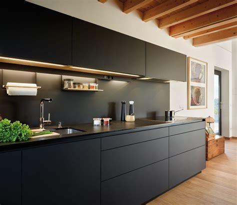 Imagenes Encimeras Negras | modelos de cocinas santos estudio gij 243 n