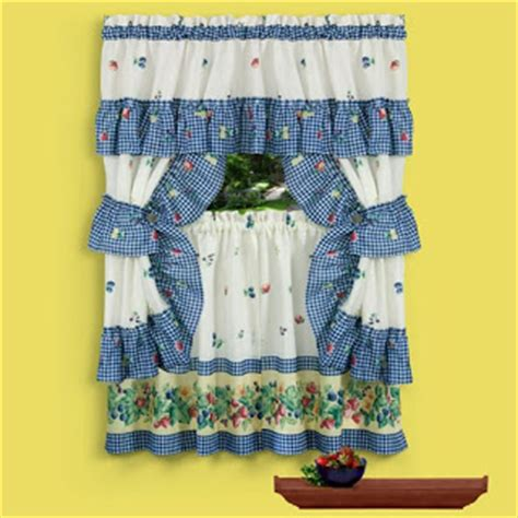 Kitchen Curtains Meijer Crest Curtains And Valences Curtains Blinds