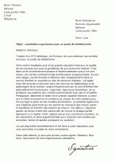 Exemple De Lettre De Motivation Facteur Mod 232 Les De Lettres De Motivation