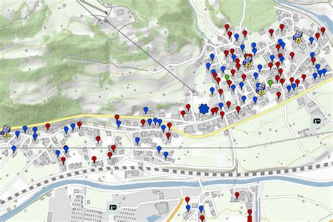 st interactive map interactive maps st anton am arlberg and neighbouring
