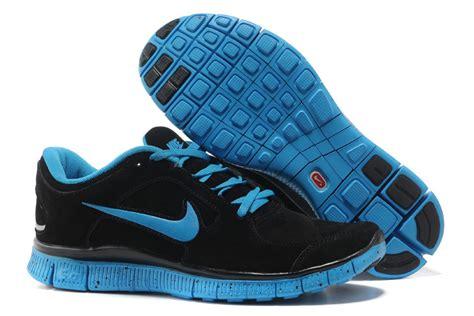 nike free 5 0 fur shoes black blue 423 59 89