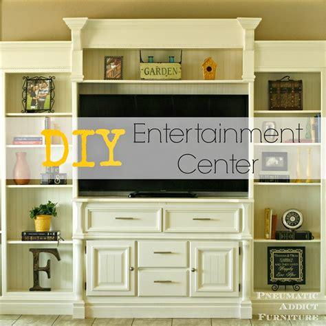 entertainment center ideas diy pneumatic addict diy entertainment center
