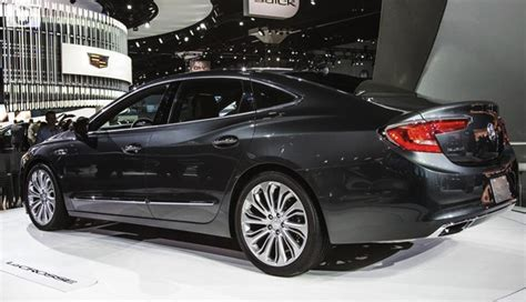 2018 buick lacrosse is a sophistication again carbuzz info