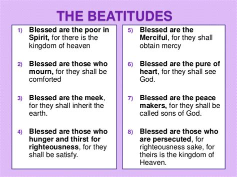 8 beatitudes and the works 8 beatitudes www pixshark com images galleries with a