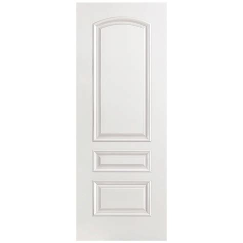 Masonite 32 In X 80 In Palazzo Treviso Smooth 3 Panel Masonite Prehung Interior Doors