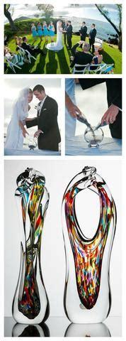 glass alternative   sand ceremony  unity candle