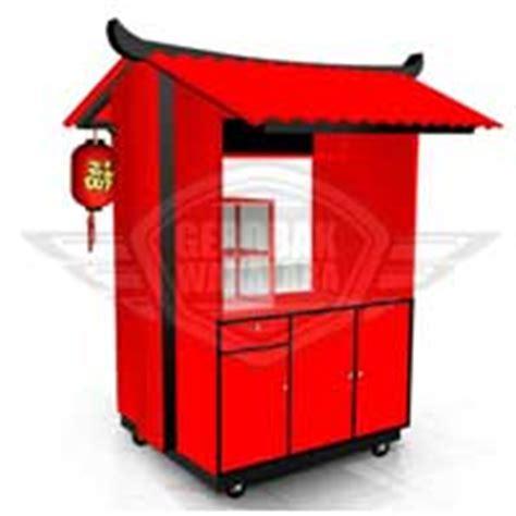 desain gerobak pempek booth unik pempek gerobak pempek bandung