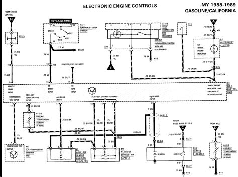 wiring diagram for mostly fuel injection