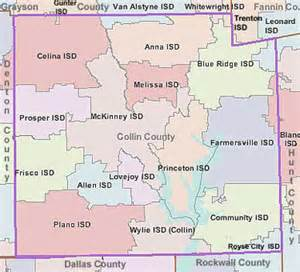 where is collin county on a map images