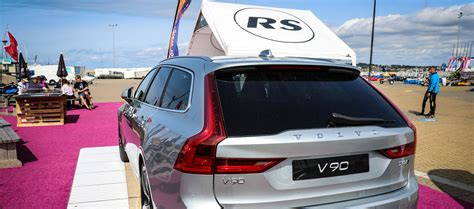 volvo cars support  british sailing   partnership  rs sailing