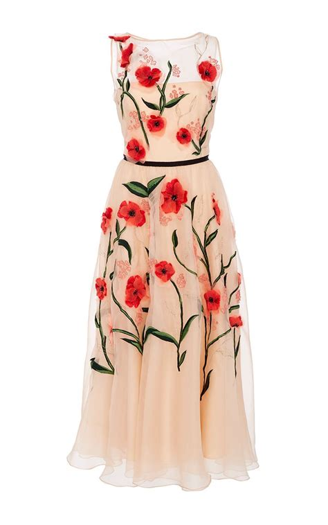Flower Dress 8950 floral embroidered dress by for preorder on moda