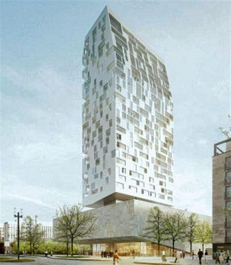 Sockel Architektur by Wohnhochhaus Quot Porsche Design Tower Frankfurt Quot Geplant Seite 2 Deutsches Architektur Forum