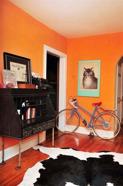 bright paint colors best 25 orange paint colors ideas on neutral