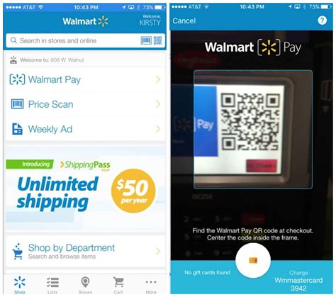 Walmart App Store Gift Card - walmart s apple pay competitor uses qr codes