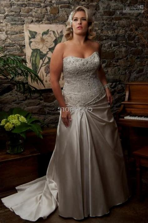 Silver Wedding Dresses by Silver Wedding Dresses Plus Size 2016 2017 B2b Fashion