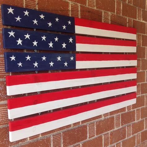 large american flag home decor painted american flag
