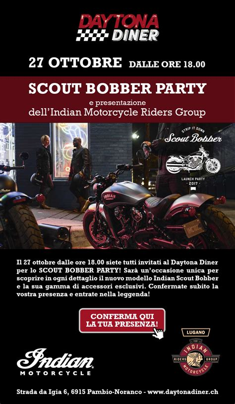Moto Scouts Nt by Indian Scout Bobber Party