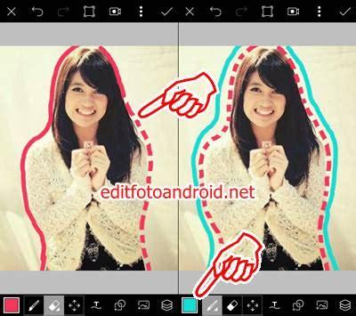 cara edit hasil foto xiaomi yi cara edit foto garis putus putus di picsart dan picsay pro