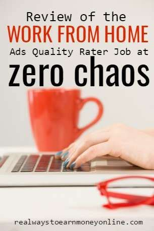 work from home ads quality rating for zerochaos home