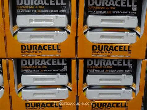 duracell led under cabinet duracell led undercabinet lights