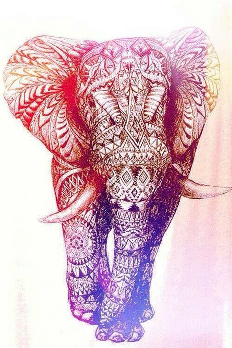 elephant pattern iphone wallpaper aztec background tumblr