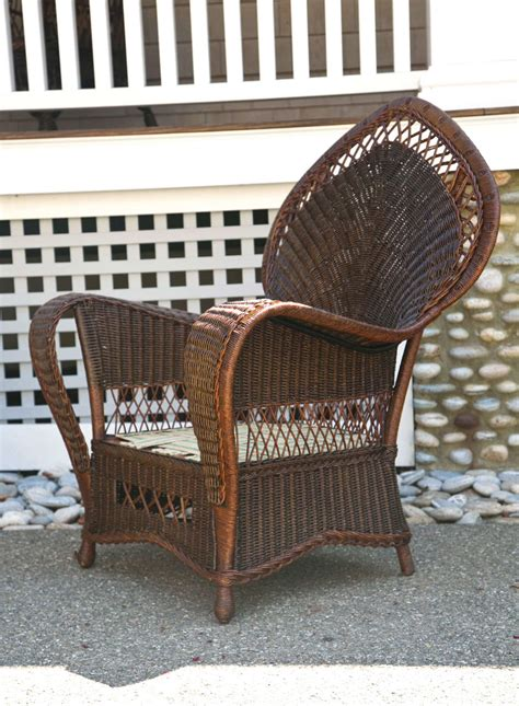 antique wicker chairs and sofa at 1stdibs