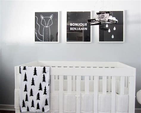 chambre bebe noir inspirations chambres d enfants noir et blanc picslovin